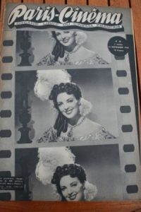 1946 Vintage Magazine Linda Darnell