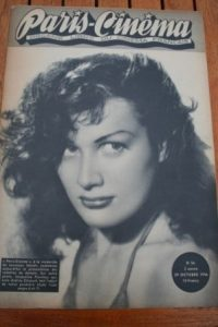 1946 Vintage Magazine Jacqueline Pierreux