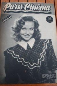 1947 Vintage Magazine Dany Robin