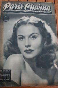 1947 Hazel Court Bob Hope Joan Caulfield Martine Carol