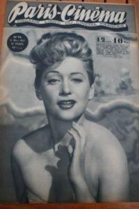 1947 Martine Carol Robert Taylor Barbara Stanwyck