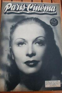 1947 Vintage Magazine Josette Day