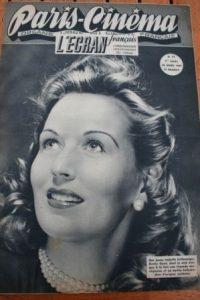 1947 Vintage Magazine Greta Gynt