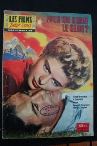 1957 Ingrid Bergman Gary Cooper For Whom the Bell Tolls