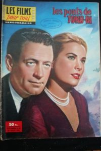 1958 Grace Kelly William Holden The Bridges at Toko-Ri