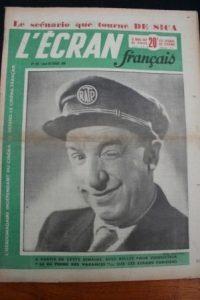 1950 Vintage Magazine Rellys Marcel Dalio