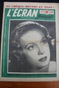 1950 Vintage Magazine Giselle Pascal Ludmilla Tcherina