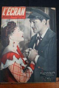 1951 Errol Flynn Micheline Presle Danielle Darrieux
