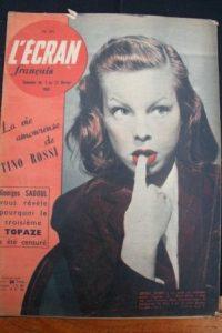 1951 Cecile Aubry Maria Mauban Jean Louis Barrault