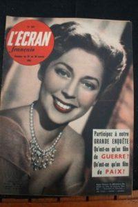 1951 Anne Vernon Gaby Sylvia Jean Gabin