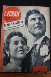 1951 Lea Padovani Sam Wanamaker Maria Casares