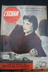 1951 Maria Casares Michele Morgan Gaby Morlay