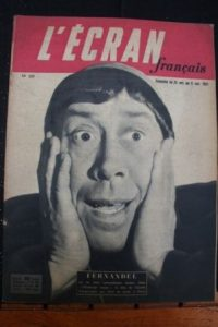 1951 Fernandel Nadine Alari Robert Lamoureux