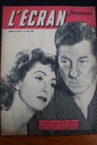 1951 Jean Gabin Danielle Darrieux Gerard Philipe