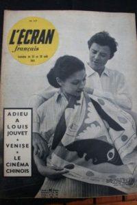 1951 Gerard Philipe Christiane Lenier Louis Jouvet