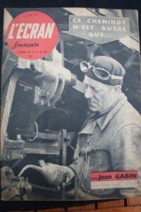 1951 Jean Gabin Madeleine Robinson Picasso Guernica