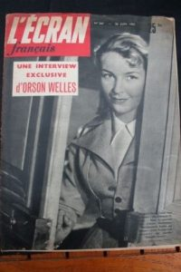 1950 Odile Versois Pierre Brasseur Jean Marais