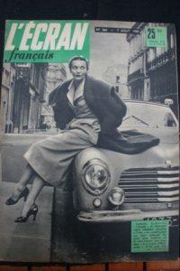 1950 Ludmilla Tcherina Jimmy Gaillard Anna Magnani