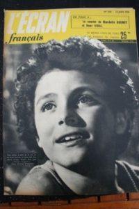 1950 Roberto Benzi Bernard La Jarrige Martine Carol
