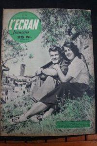 1950 Jean Marais Alida Valli Silvana Mangano