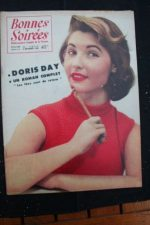 1956 Vintage Magazine Doris Day Mouloudji