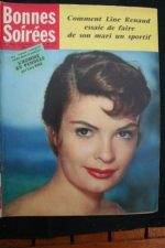 1958 Vintage Magazine Patricia Owens Line Renaud