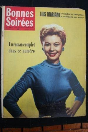1958 Vintage Magazine Mizi Gaynor Luis Mariano