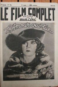 1924 Estelle Taylor Lewis Stone Irene Rich Marjorie Daw