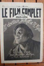 1922 John Barrymore Dr. Jekyll and Mr. Hyde Original !!