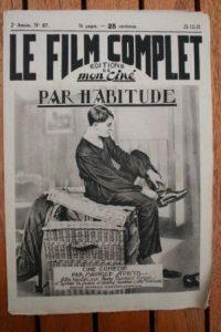 1923 Maurice Chevalier Pauline Carton Georges Milton
