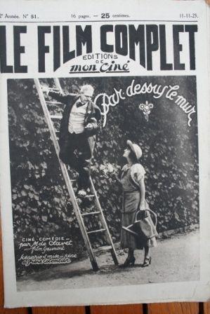 1923 Henri-Amedee Charpentier Jean Dehelly Dolly Davis