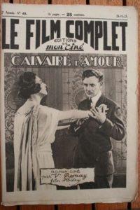 1923 Charles Vanel Nathalie Lissenko Nicolas Rimsky