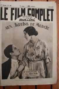 1923 Arlette Marchal Pierre Daltour Pierre Blanchar