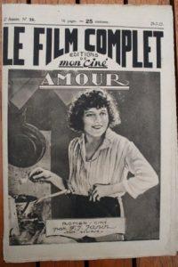 1923 Louise Glaum Peggy Cartwright James Kirkwood