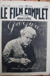1923 William Farnum Francis Joyner Sally Crute