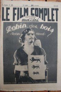 1923 Douglas Fairbanks Robin Hood Original !!!