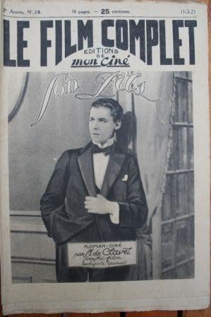 1923 Tore Svennberg Pauline Brunius Paul Seelig