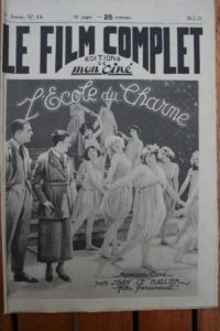 1923 Wallace Reid Lila Lee Adele Farrington