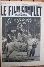 1923 Nathalie Lissenko Anna de La Croix Jean Angelo