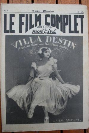 1923 Saint-Granier Alice Field Georges Paulais