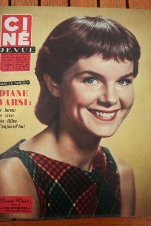 Diane Varsi Sophia Loren Gregory Peck Zizi Jeanmaire