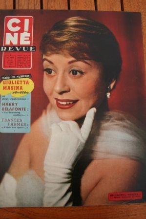1958 Giulietta Masina Harry Belafonte Teresa Wright