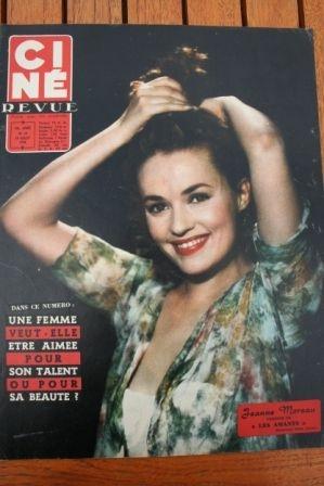 1958 Jeanne Moreau Gina Lollobrigida Ingrid Bergman