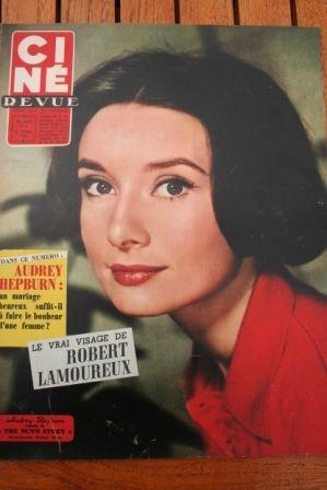1958 Audrey Hepburn Romy Schneider Sophia Loren