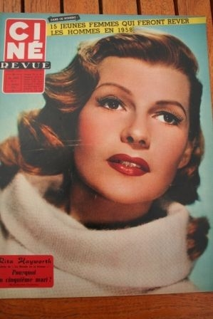 58 Rita Hayworth Natalie Wood Gordon Scott 3:10 to Yuma