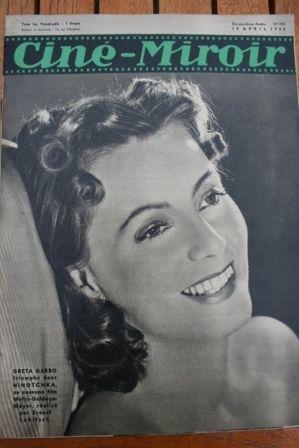 1940 Greta Garbo Loretta Young Errol Flynn Rellys