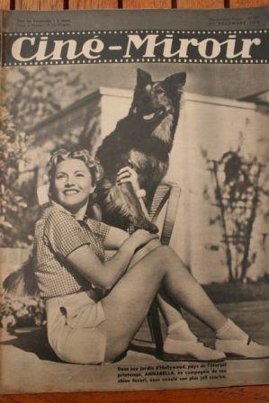 39 Annabella Melvyn Douglas Dennis O'Keefe Laraine Day
