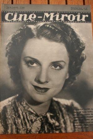 1939 Sacha Guitry Pat O'Brien Anne Shirley Ruby Keeler