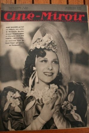 1939 Jean Arthur Cary Grant Willy Birgel Gaby Wagner
