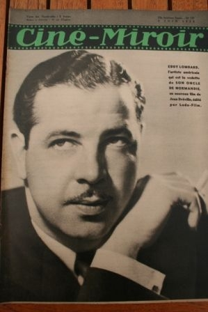 1939 Eddy Lombard Fred Astaire Ginger Rogers Don Ameche